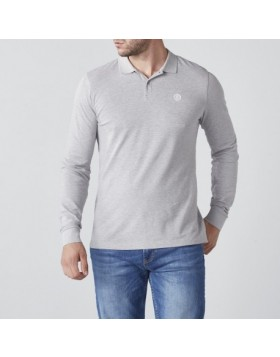 Henri Lloyd Musburry Reg LS Polo Grey