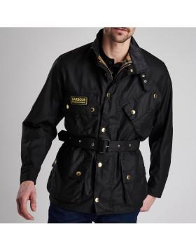 Barbour International Original Waxed Jacket - Black