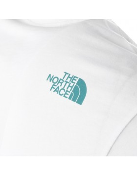 The North Face SHORT SLEEVE FINE TEE White