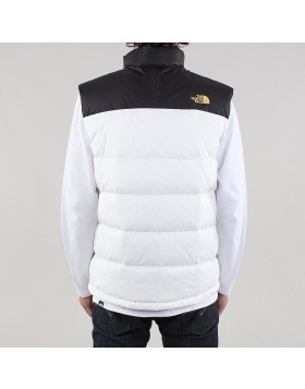 The North Face Nuptse 2 Vest TNF White/TNF Black