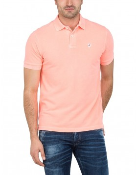 Reply Polo Shirt Salmon