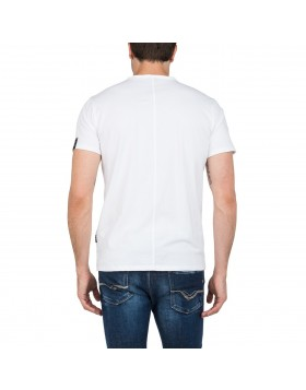 Reply V-Neck T Shirt White