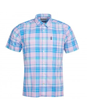 Barbour Madras 6 Short Sleeved Shirt