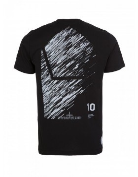 Stone Island Shadow Project Black 10 Year Anniversary T-Shirt