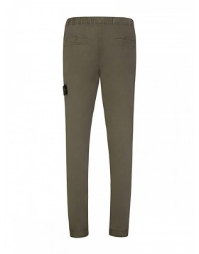 Stone Island Khaki Patch Chino Trousers