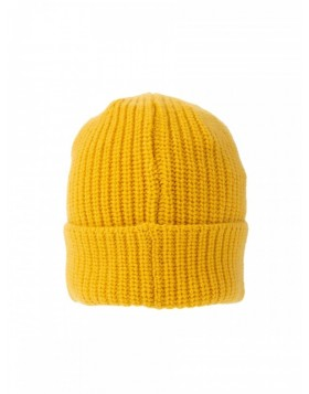 Stone Island Knit Yellow Beanie