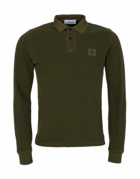 Stone Island Milano Washed Polo Shirt