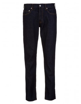 Stone Island Navy Regular Tapered Jeans