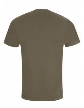 Stone Island Olive Patch Logo T-Shirt