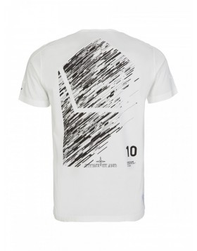 Stone Island Shadow Project White 10 Year Anniversary T-Shirt