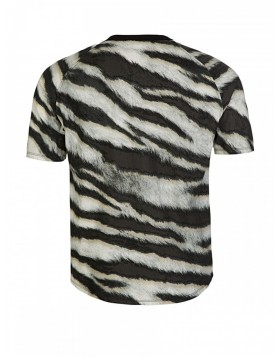 Stone Island White Tiger Camouflage T-Shirt