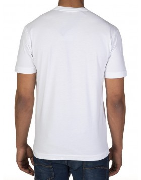 Stone Island White Patch Logo T-Shirt