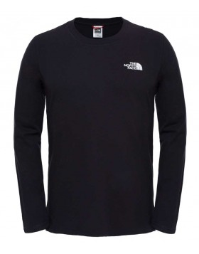 The North Face L/S Easy T-Shirt TNF Black