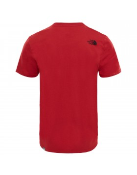 The North Face S/S Simple Dome T-Shirt TNF Red