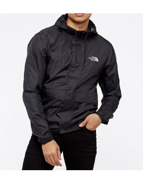 The North Face 1985 Mountain Jacket - Black/High Rise Grey