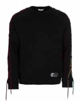 Versace Black Rope Sweatshirt