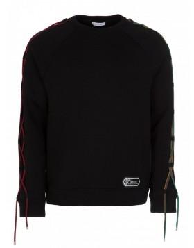 Versace Black Rope Sweatshirt