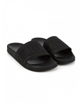 Versace Collection Baroque Black Sliders