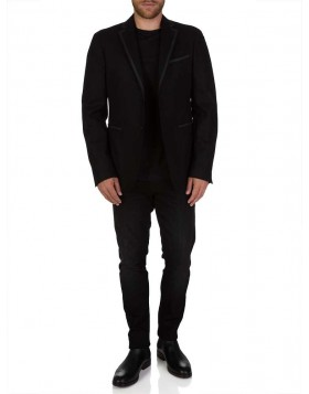 Versace Collection Black Wool Jacket