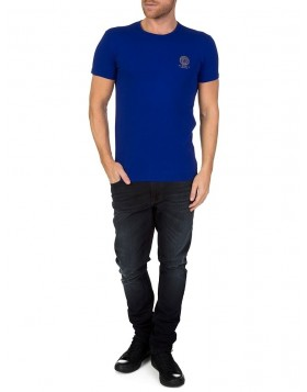 Versace Underwear Blue Lounge T-Shirt